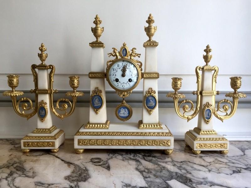 ремонт настольных и каминных часов в москве